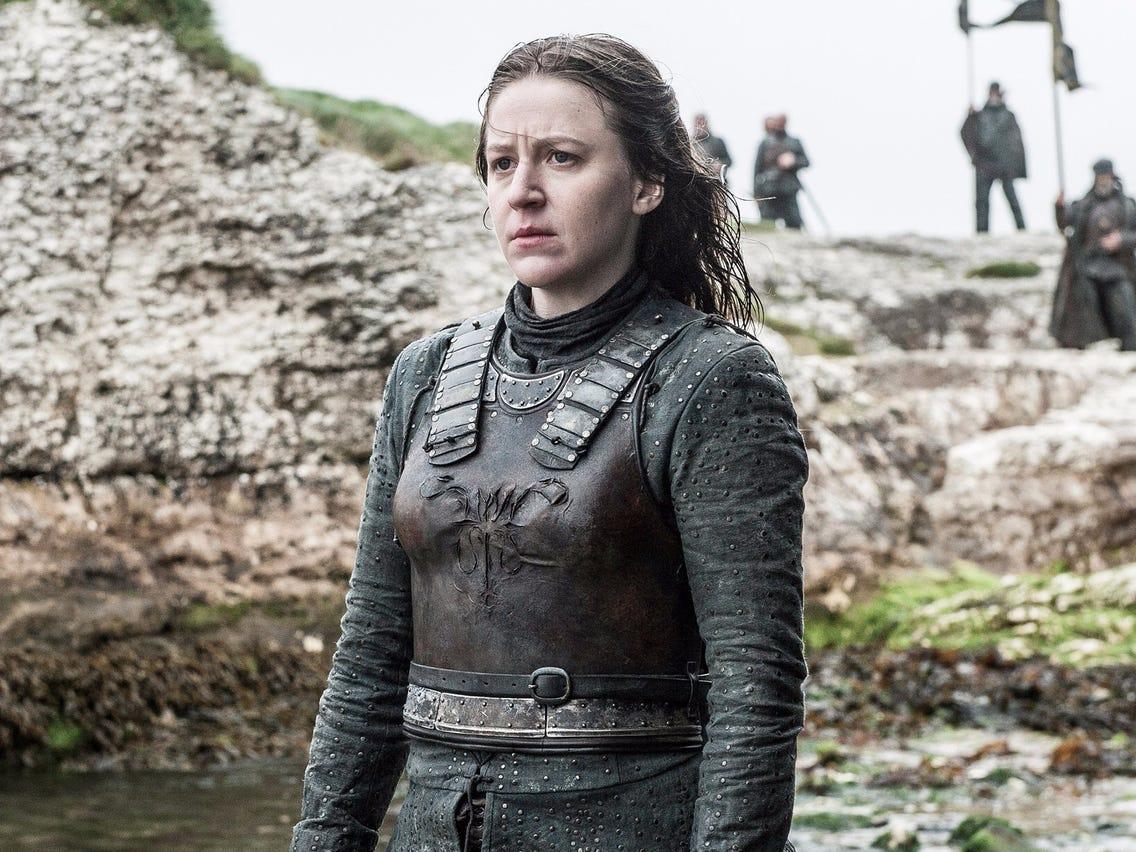 """Gemma Wheelan in """"Game of Thrones"""""""