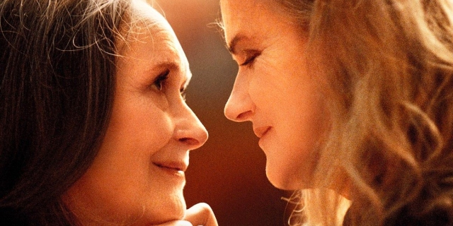 Barbara Sukowa and Martine Chevallier in Two Of Us