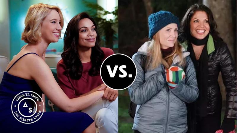 Petra and JR vs. Callie and Arizona