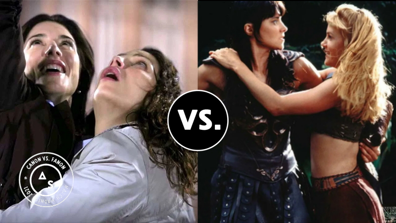 Bering and Wells vs. Xena and Gabrielle