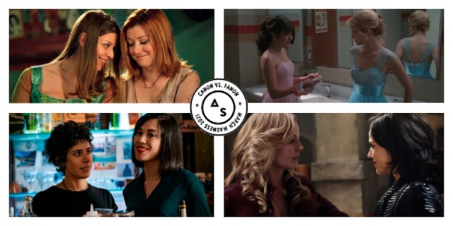 Top Picks of the March Madness bracket: Willow and Tara, Nico and Emma, Rachel and Quinn and Emma and Regina