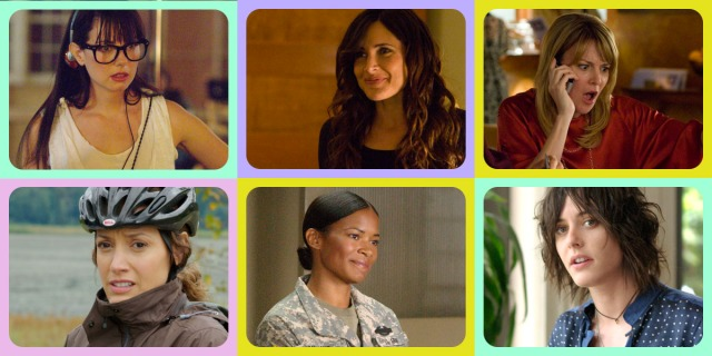 Six characters from The L Word quiz: Jenny, Helena, Tina, Bette, Tasha, Shane.