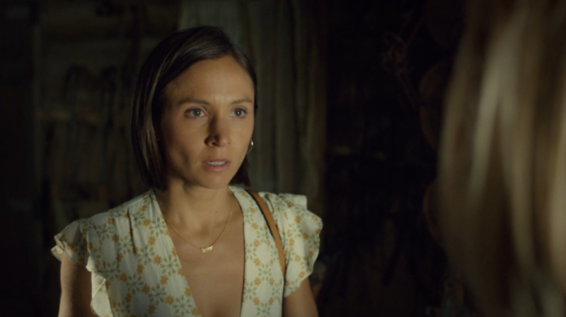 Waverly looks stunned to see Jolene, and not in a good way.