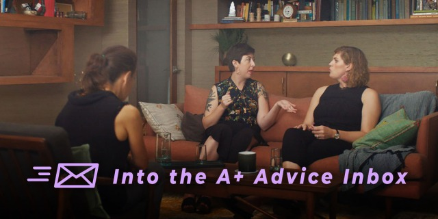 two women in couples therapy and a therapist!