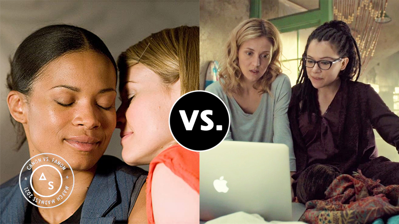 Alice and Tasha vs. Cosima and Delphine