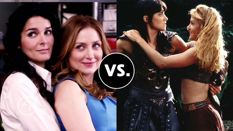 Rizzles vs. Xena and Gabrielle