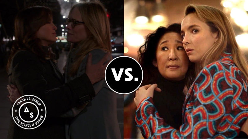 SVU vs. Killing Eve in the fanon Sweet 16 match-up.