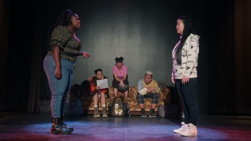 Good Trouble recap 308: Alice and Stacey perform for a bigoted audience of one at the CBTV Diversity Workshop.