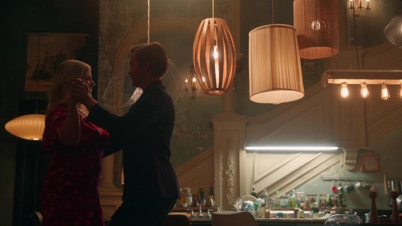 Matt teaches Davia to waltz on the latest episode of Good Trouble.