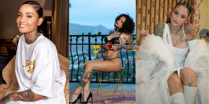 Is Kehlani a lesbian? The singer just came out as lesbian. Here's a three part collage of the singer Kehlani: In the first photo they are in an oversized white T, in the next photo they are lounging in Savage x Fenty Lingere, in the third photo they are