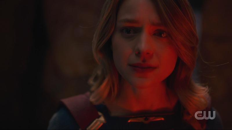 Kara looks determined to fight.