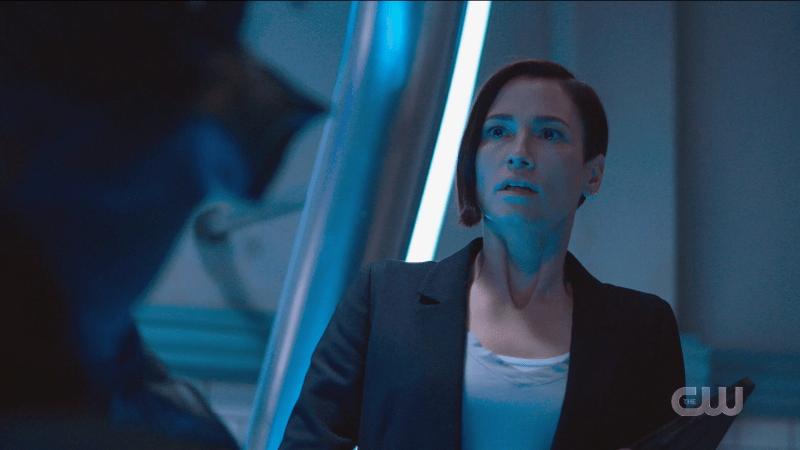Supergirl recap: Alex looks stunned.