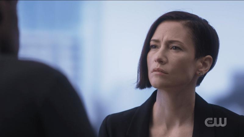 Supergirl recap: Alex looks incredulous.