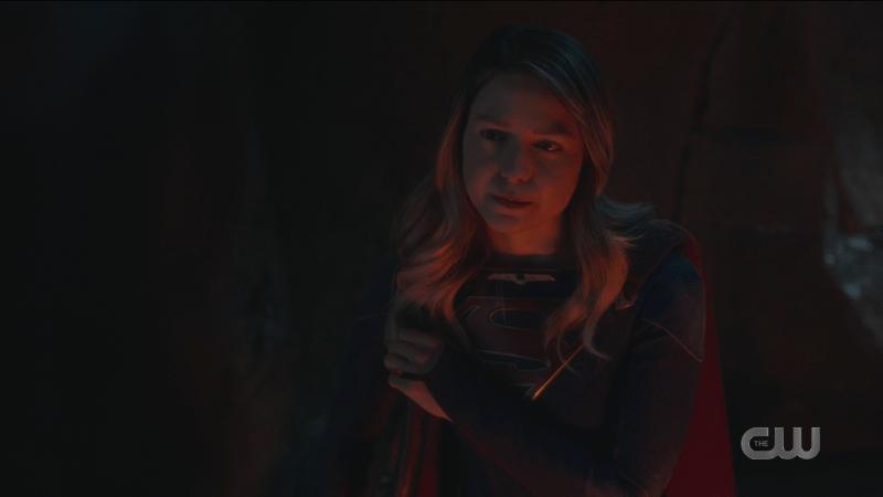 Kara looks determined.