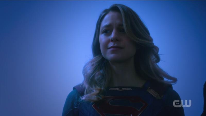 Kara looks hopeful against all odds.