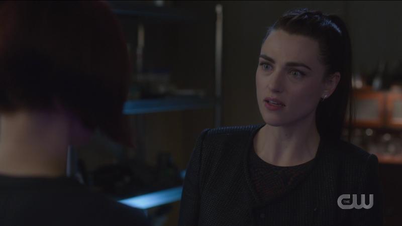 Lena looks shocked.