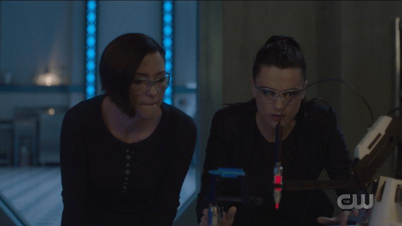 Alex and Lena make crazy science together.