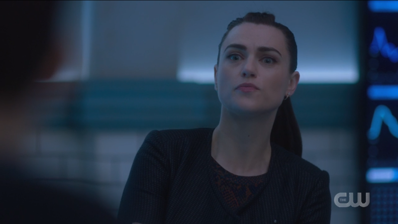 Lena looks supportive.
