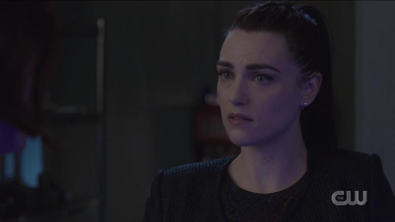 Lena looks a little worried.