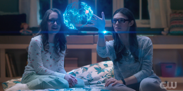 supergirl recap 6x05: Nia shows Kara her dream bubble powers.