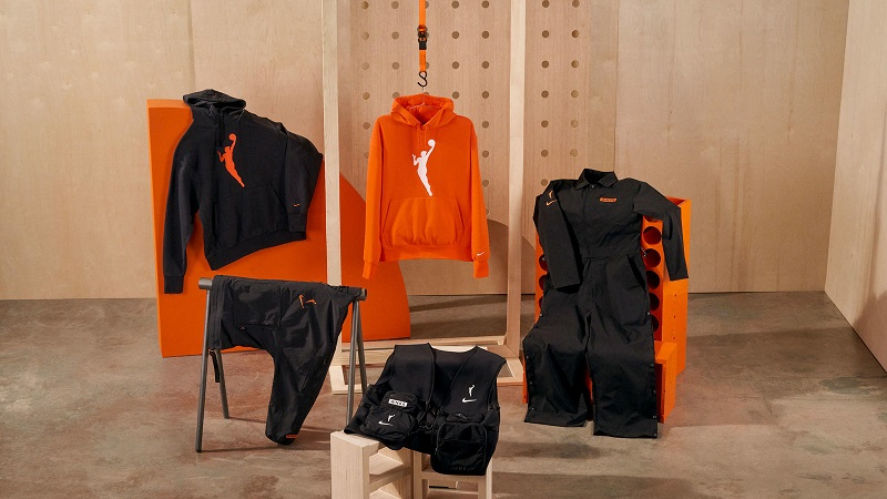 The WNBA Game Theater Collection includes travel jackets, sweats, hoodies and more.