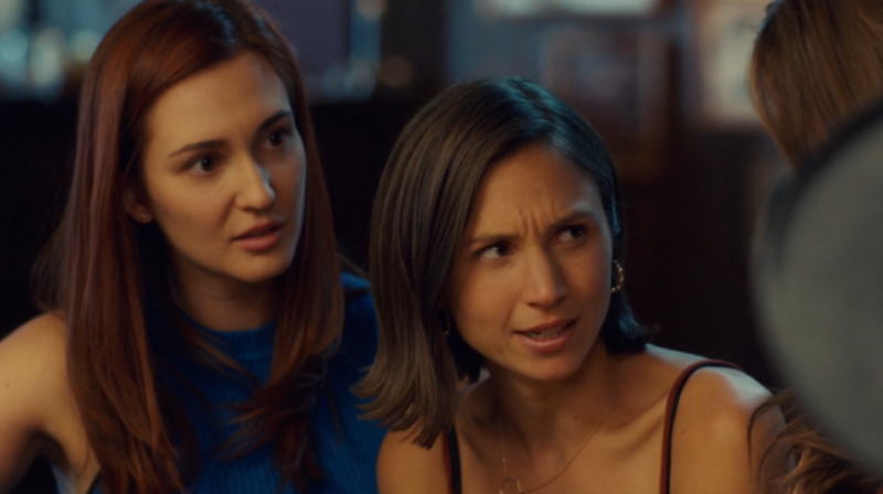 Waverly looks surprised to hear Doc is defanged.