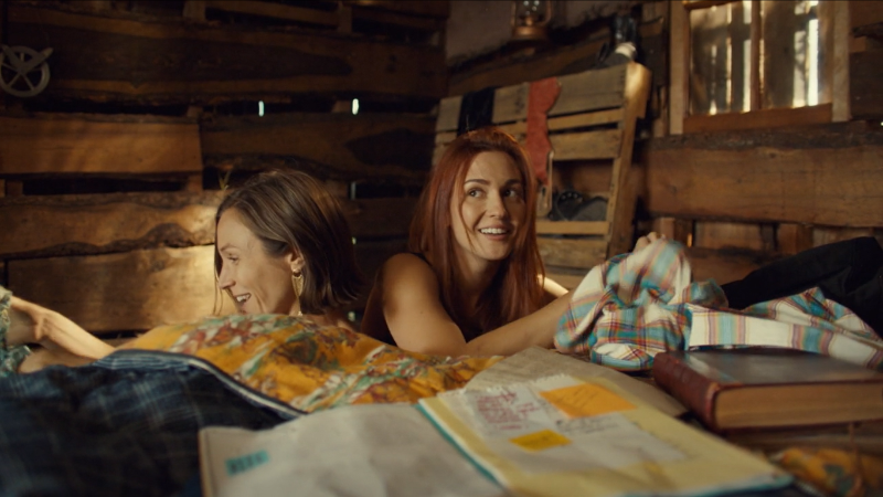 Wynonna Earp series finale recap: Nicole and Waverly scramble to put their clothes back on.