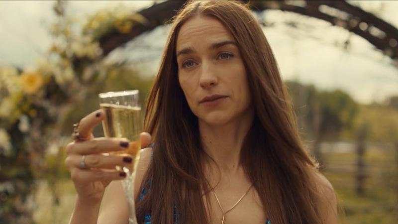 Wynonna toasts WayHaught