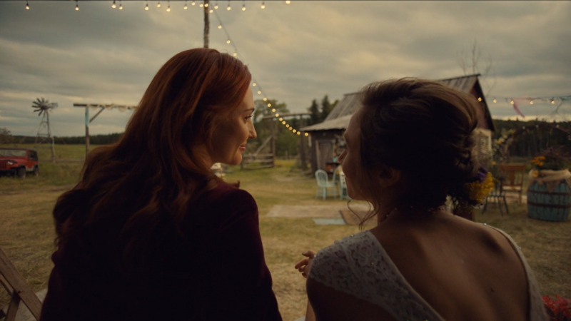 Wynonna Earp series finale recap: Nicole and Waverly sit on the front porch
