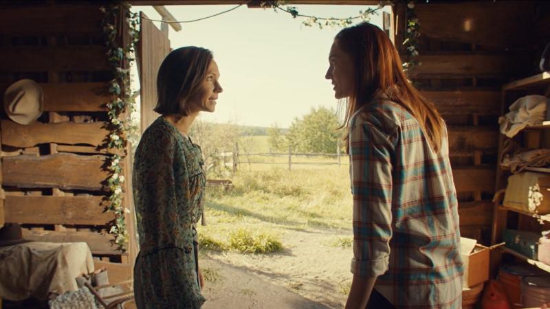 Wynonna Earp series finale recap: Waverly and Nicole exchange ah-ha looks.