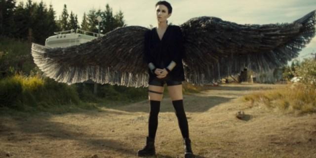 Dark Angel Waverly in Wynonna Earp season four