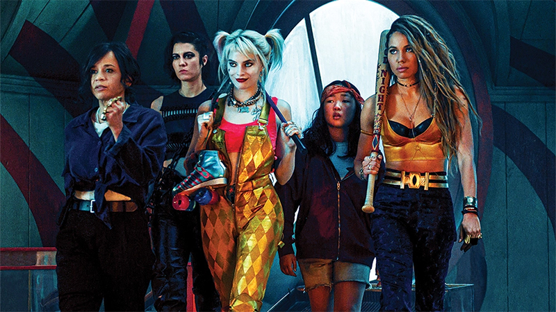 The Birds of Prey ready to fight