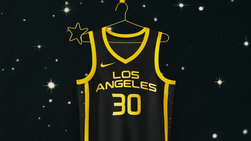The LA Sparks debut their new Rebel Edition jersey.
