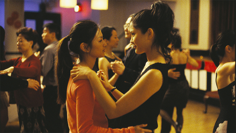 Wil and Vivian slow dance