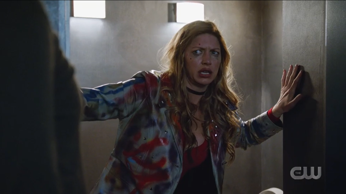Legends of Tomorrow recap: Ava Sharpe looks hungover in her punk look.