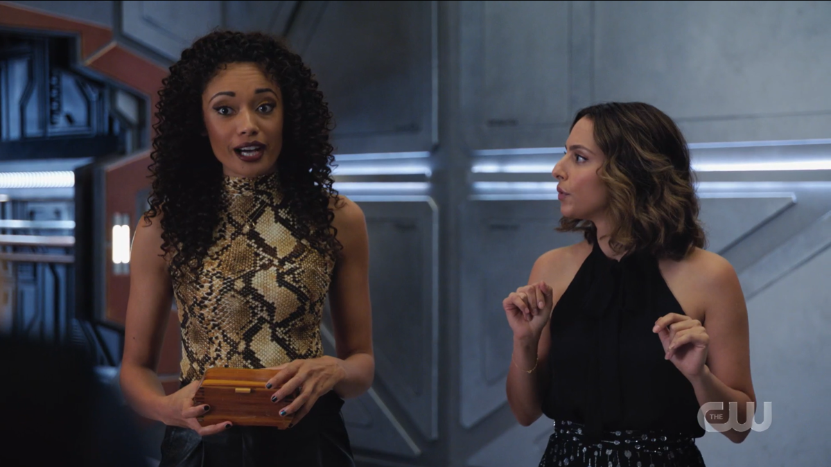 Legends of Tomorrow recap: Astra and Zari 2 present their findings.