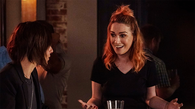 queer redhead tess from the l word: generation q