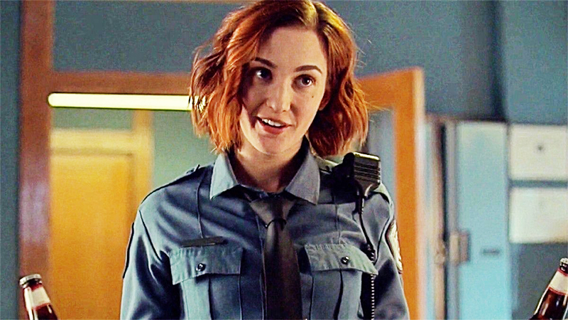 queer redhead Nicole Haught from Wynonna Earp