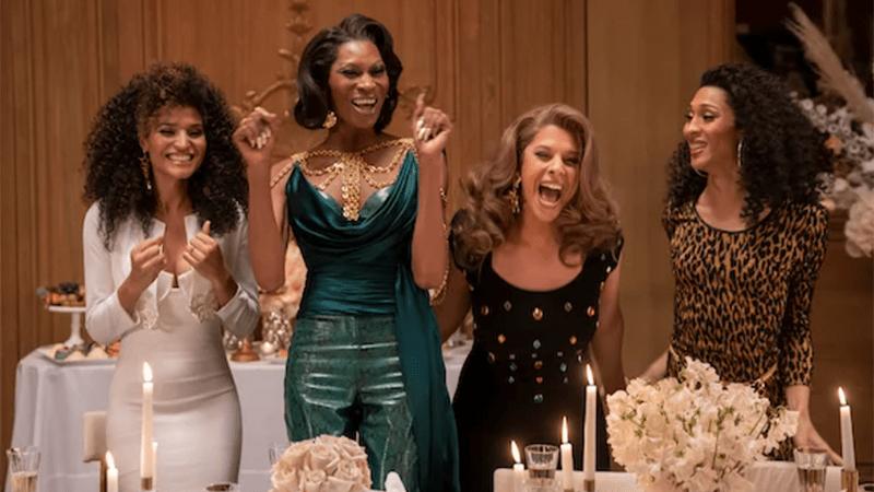 The leading ladies of Pose celebrate