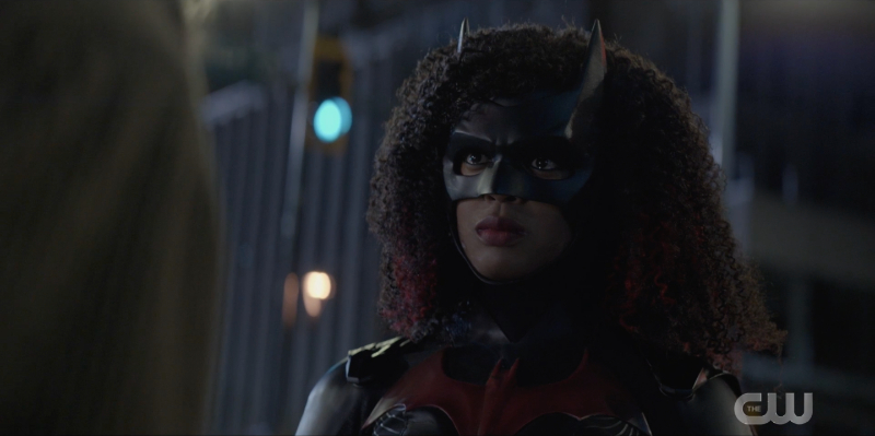 Batwoman looks PISSED OFF