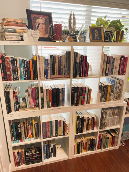 a picture of riese's work library