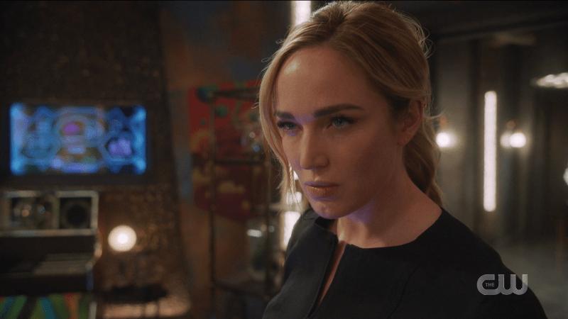 Sara glares at Bishop