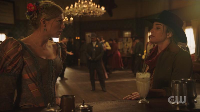 Ava looks worried, Sara tries to reassure her