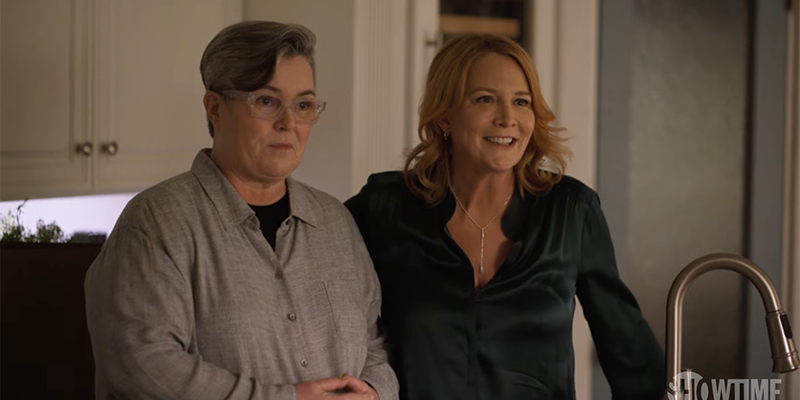 The L Word Generation Q Season 2 Trailer: Rosie O'Donnell and Tina stand proudly in Bette's kitchen