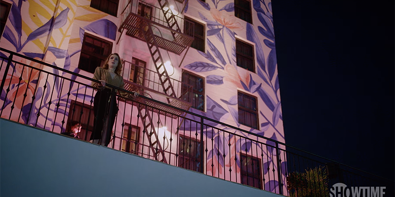 The L Word Generation Q Season 2 Trailer: Tess stands on a balcony overlooking the city