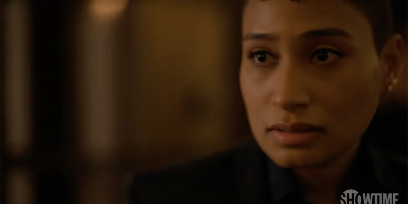 The L Word Generation Q Season 2 Trailer: Sophie looks concerned.