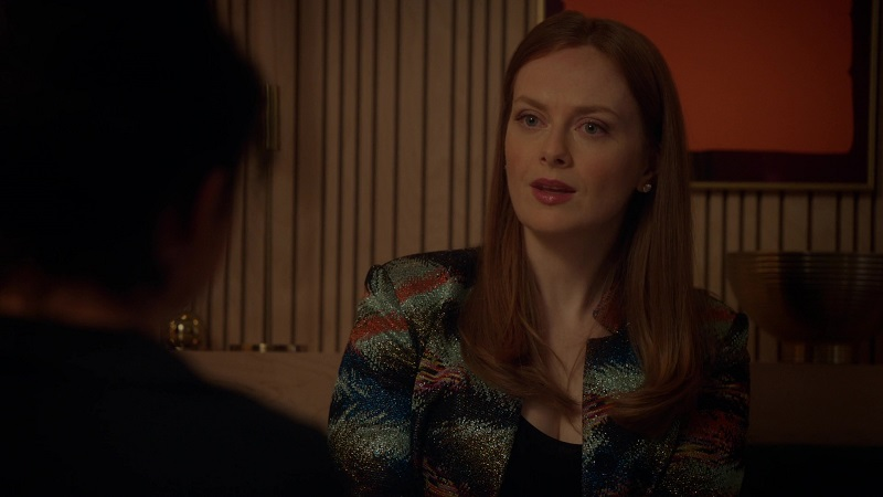 Eva listens as Kat tries to come up with an explanation for why they can't be together.