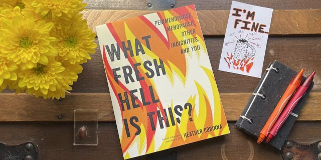 """pic of the book """"What Fresh Hell is This"""""""