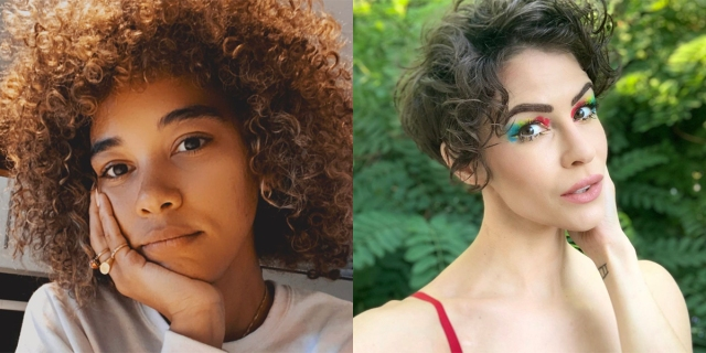 A two-photo collage of Alexandra Shipp and Linsey Godfrey
