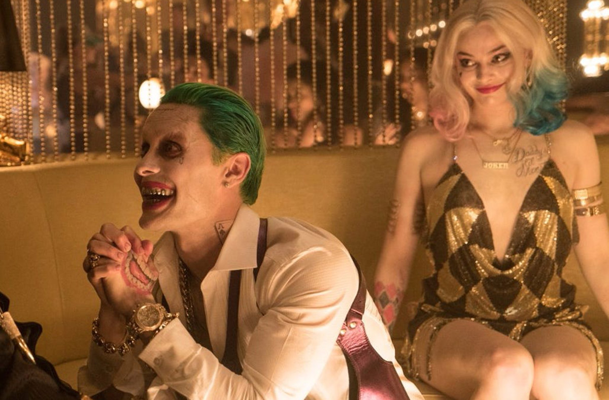"""Still of Harley Quinn with the Joker in """"Suicide Squad"""""""
